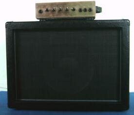 Guitar Amp and Cab. Ameson 120Watt Amp and 300watt Celestion Speaker Cab.