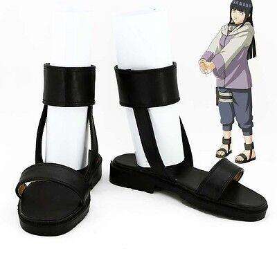 Hyuga Hyuuga Hinata NARUTO Cosplay Kostüm NINJA Schuhe Shoes Chaussure Scarpa (Hinata Hyuga Cosplay Kostüm)