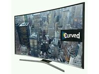 "SAMSUNG 40"" SMART CURVED LED TV WITH BUILT IN WiFi FREEVIEW HD, 4X HDMI NEW CONDITION FULLY WORKING"