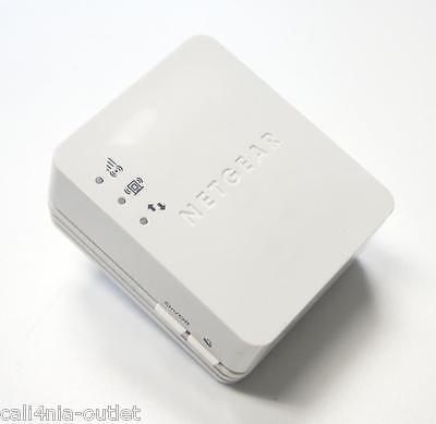 NetGear WN1000RP Wireless N150 Wi-Fi wall Plug Range Extender Booster amplifies