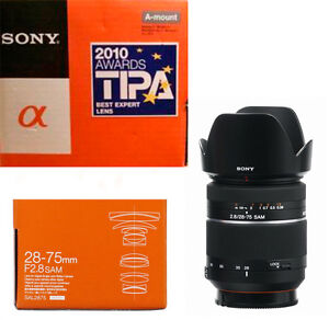Sony 28-75mm f/2.8 sam sal 2875 Monture A FF comme neuF