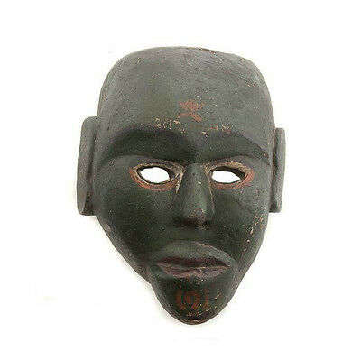 Mask Tibet Nepal Crafts Hat and Mitten Set or Tibetan 9439