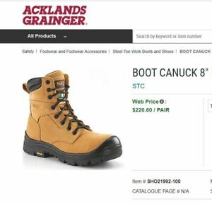 ce8907e3ba2 Work Boots | Kijiji in Kamloops. - Buy, Sell & Save with Canada's #1 ...
