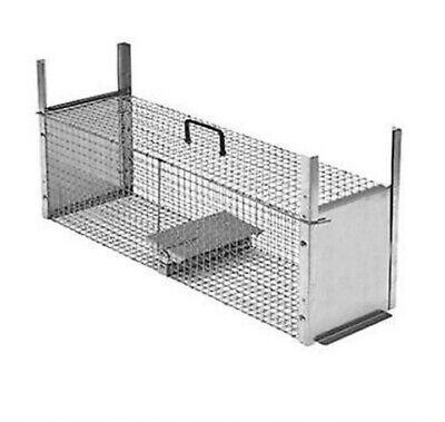Trappola per topi piccoli roditori 2 entrate ferro elettrosaldato zincato