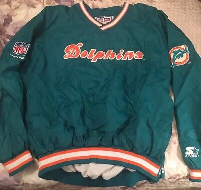 Miami Dolphins Starter Jacket Size XL (Classic, Vintage, Authentic, 90s) ()