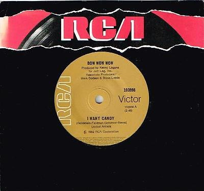 Bow Wow Wow   I Want Candy   7  45 Vinyl Record   1982