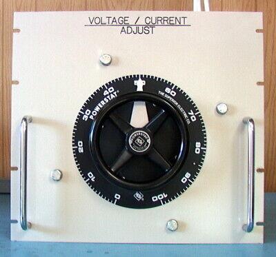 19 Rack Mount Power Stat 7.8 Kv 28 Amps Variable Transformer 1256du