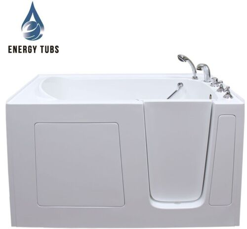 """30"""" x 60"""" Fully Loaded Hydrotherapy Walk In Bath Tubs - Right Door"""