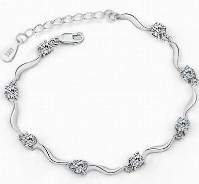 Women Fashion White Silver Bamboo Crystal Rhinestone Cuff Bangle Bracelet Bamboo Silver Bracelet Bangle