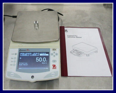 Ohaus Explorer Pro Ep4101 Digital Lab Scale With Power Cord