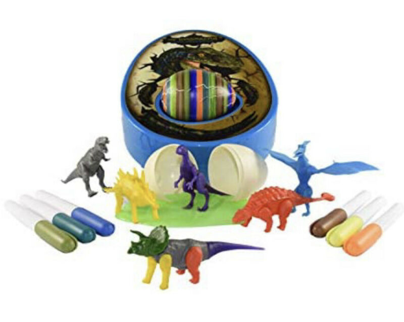 The DinoMazing Dino and Easter Egg Decorator + 2 Dino Eggs w Mystery Dinosaurs