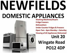 Washing Machines & Fridge Freezers With Warranty - Newfields Domestic Appliances - Gosport