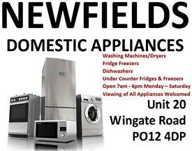 OPEN 7am - 8pm Monday - Saturday - Washing Machines - Newfields Domestic Appliances - Gosport