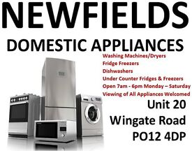 Quality Used Appliances - Newfields Domestic Appliances - Gosport