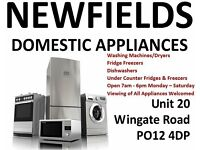 Washing Machines & Fridge Freezers with Warranty - Prices from £65.00