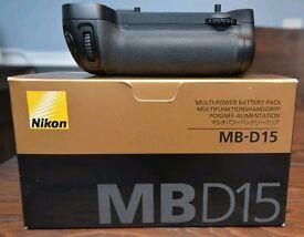 Genuine Nikon MB D15 Battery Grip For Sale