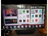 LG 42 Smart LED tv with built in Wifi
