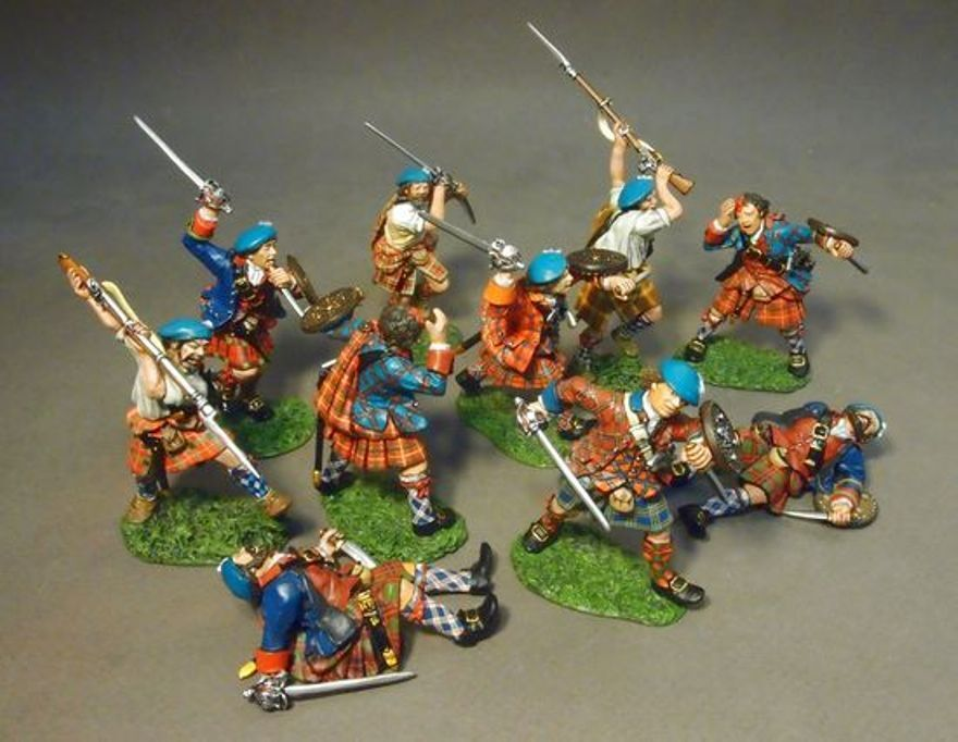 JOHN JENKINS JACOBITE REBELLION JRHBS-01 10TH ANNIVERSARY SET 1 MIB - $250.00