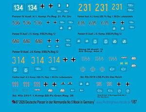 Peddinghaus-2029-1-87-Aleman-Panzer-en-la-Normandia-N-5