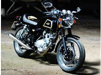 * Brand New 2017 * AJS Cadwell 125cc, Cafe Racer. Warranty Free Delivery: 08-03