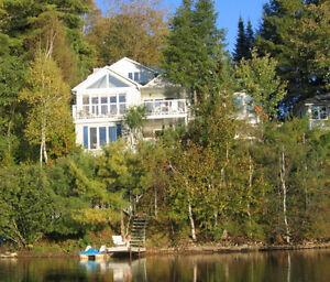 magnifique bord de lac avec possibilité de revenu