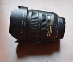 Nikon AF-S Nikkor 24-85mm f3.5-4.5 (pre-VR version) zoom lens