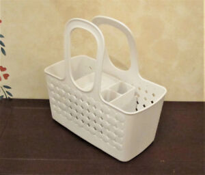 White Toiletry Caddy By Rebrilliant
