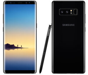 Great Condition & Unlocked Samsung Galaxy Note-8 on Sale