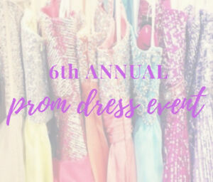 Prom Dress Donations Needed