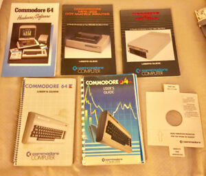 Commodore 64 Guides and Manuals