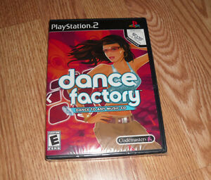 Dance Factory (Sony PlayStation 2 - 2006) Brand New Sealed PS2