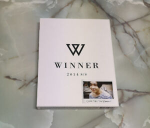 FREE KPOP ALBUM! WINNER 2014 S/S LIMITED EDITION