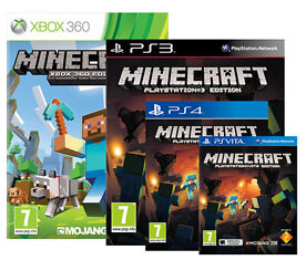 Minecraft All Formats from only £14.99