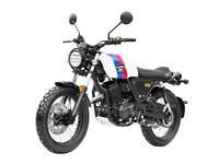 Lexmoto Tempest 125 EFi - Retro Style Motorcycle - Avon Motorcycles Bristol