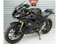 2019 19 YAMAHA YZF-R125 ABS NEW SHAPE BLACK TRADE SALE CAT N EASY FIX 2622miles