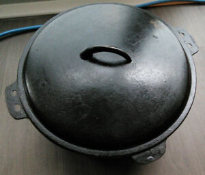 Cast Iron Dutch Oven Crock Pot