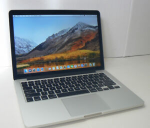 MACBOOK PRO 13in MID 2014 RETINA 8GBRAM 128SSD 10/10 condition