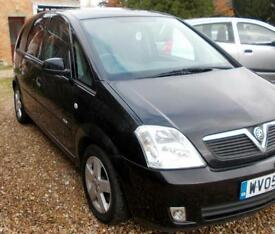 2005 Vauxhall Meriva 1.8i Design MPV BRAND NEW MOT AND SERVICE