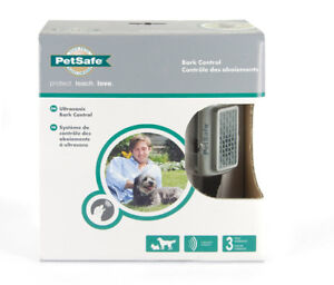 New, Petsafe brand anti-bark Collar