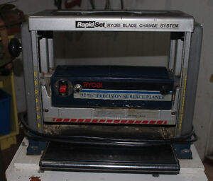 "RYOBI 12 5/16"" Precision Surface Planer with Stand for Sale"