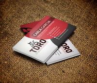 I will design your double sided BUSINESS CARD for $5