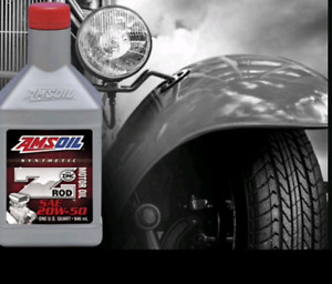 Amsoil Z-Rod & Dominator, protect your classic or racer