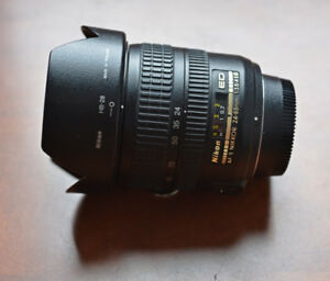 Nikon AF-S Nikkor 24-85mm f3.5-4.5 wide-to-telephoto zoom lens