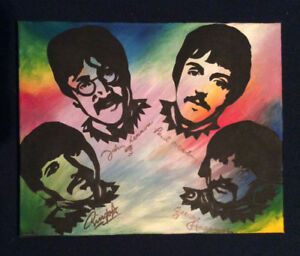 Beatles painting OPEN TO OFFERS