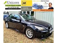 2009 BMW 5 Series 2.0 520d M Sport 4dr Saloon 12 MONTHS NATIONAL WARRANTY