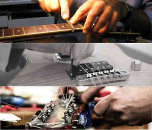 Guitar Repair & Set-up for Banjo, Mandolin, Violin, Flute & More