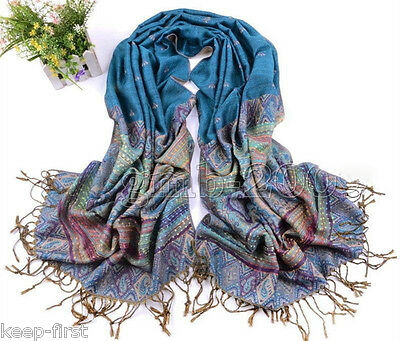 New Beautiful Women's Fashion 100% Cashmere Pashmina Soft Warm Wrap Shawl Scarf