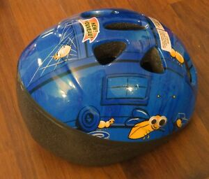 Unisex Toddler Bike Helmet *Bugs Theme*