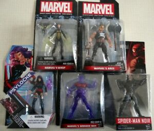5 Marvel Action Figures / Figurines d'action ( New / Neuf )