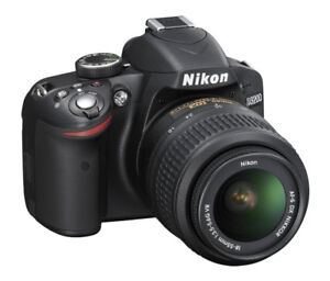 **NIKON D3200 DSLR CAMERA W/ 18-55mm VR II LENS KIT [24.2 MP]**
